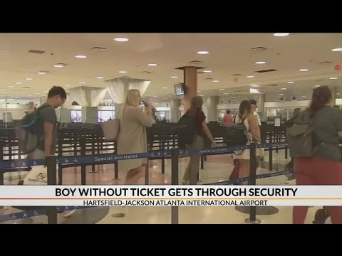 Aviation Blog - Jay Ratliff - No Ticket?  No Problem:  Kid talks his way past Atlanta TSA checkpoint!