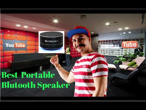 ZEBRONICS INDUCTION SPEAKER AMPLIFY Unboxing & Review (Full Details In Hindi)