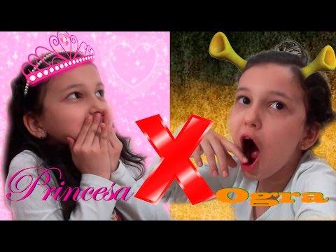 PRINCESA VS OGRA !!! | Luluca
