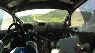 Rally Portugal 2013: Østberg/Eriksen - Test (Qatar M-Sport WRT)