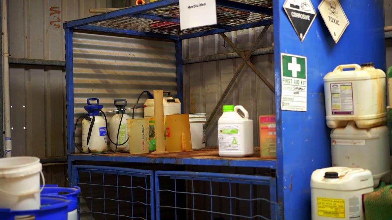 Farm chemical safety video series   SafeWork SA