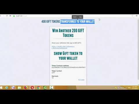 Get 1000 GIFT Token in Meta Mask Wallet Free and 1000 token im wallet