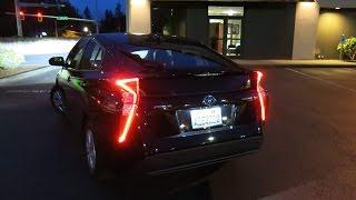 видео Toyota Prius четвертого поколения