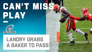 Browns Have Life w/ a TD to Landry