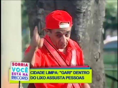 SORRIA: GARI DENTRO DO LIXO ASSUSTA PEDESTRES