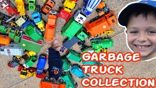 AMAZING Toy Garbage Truck Collection l Garbage Trucks Rule l Videos For Kids