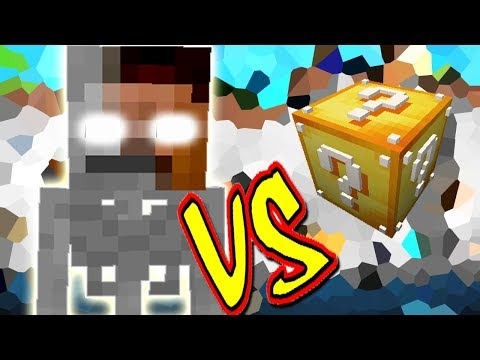 SKELEBRINE VS. LUCKY BLOCK (MINECRAFT LUCKY BLOCK CHALLENGE SKELETO HEROBRINE)