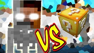 SKELEBRINE VS. LUCKY BLOCK (MINECRAFT LUCKY BLOCK CHALLENGE SKELETO HEROBRINE)