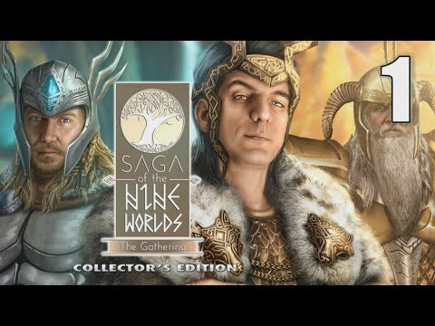 Saga Of The Nine Worlds: The Gathering CE [01] Let's Play Walkthrough - START OPENING - Part 1