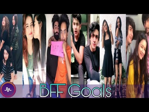 Best Friend Musically Video Compilation (BFF Goals) 2018 | Musically India Compilation.