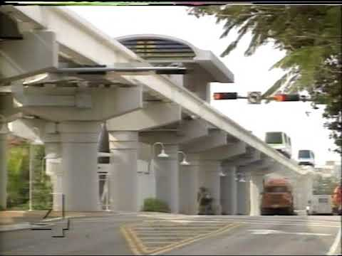 WTVJ / MIAMI - 1994 - Bob Mayer Reports On MetroRail and MetroMover Failures