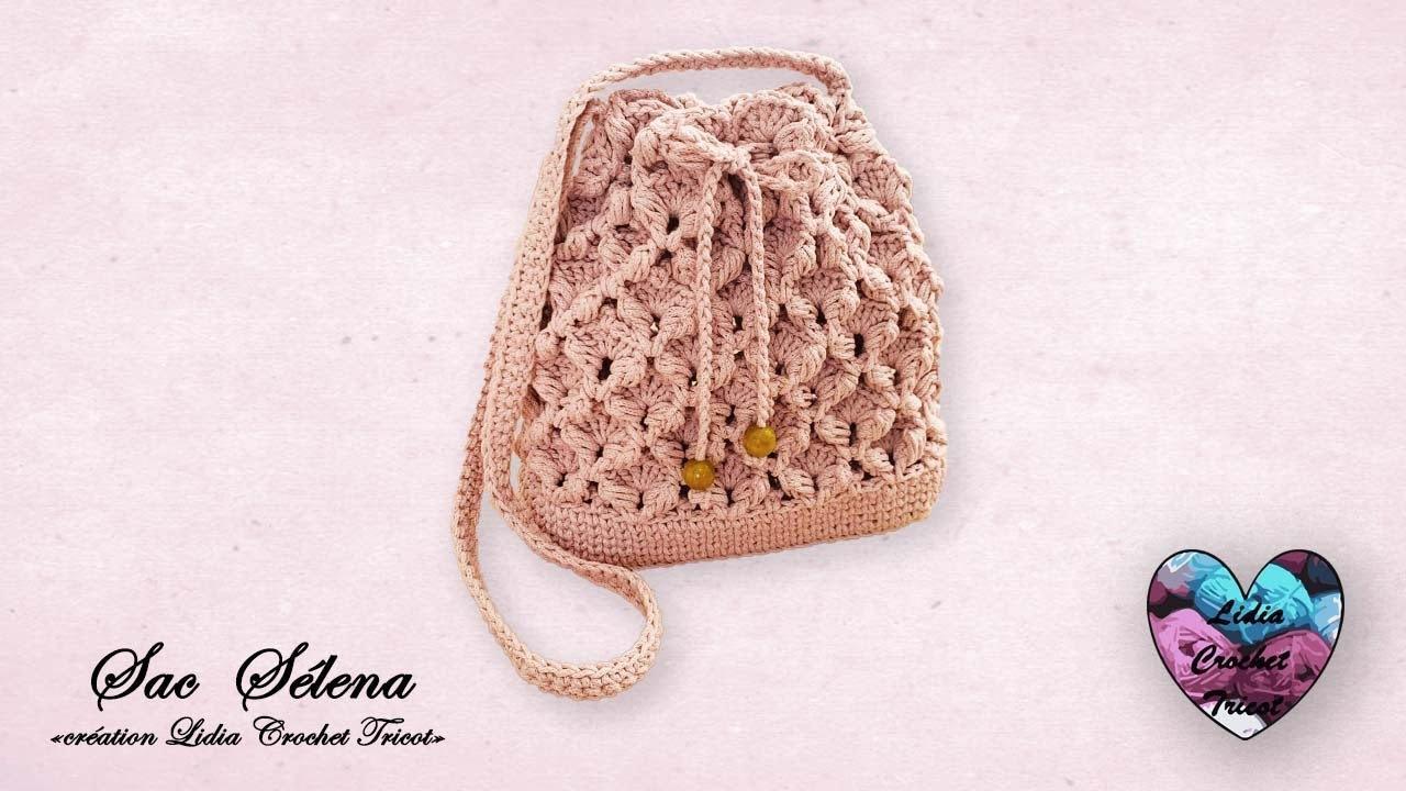 "Sac SÉLÉNA Crochet ""Lidia Crochet Tricot"" Facile"