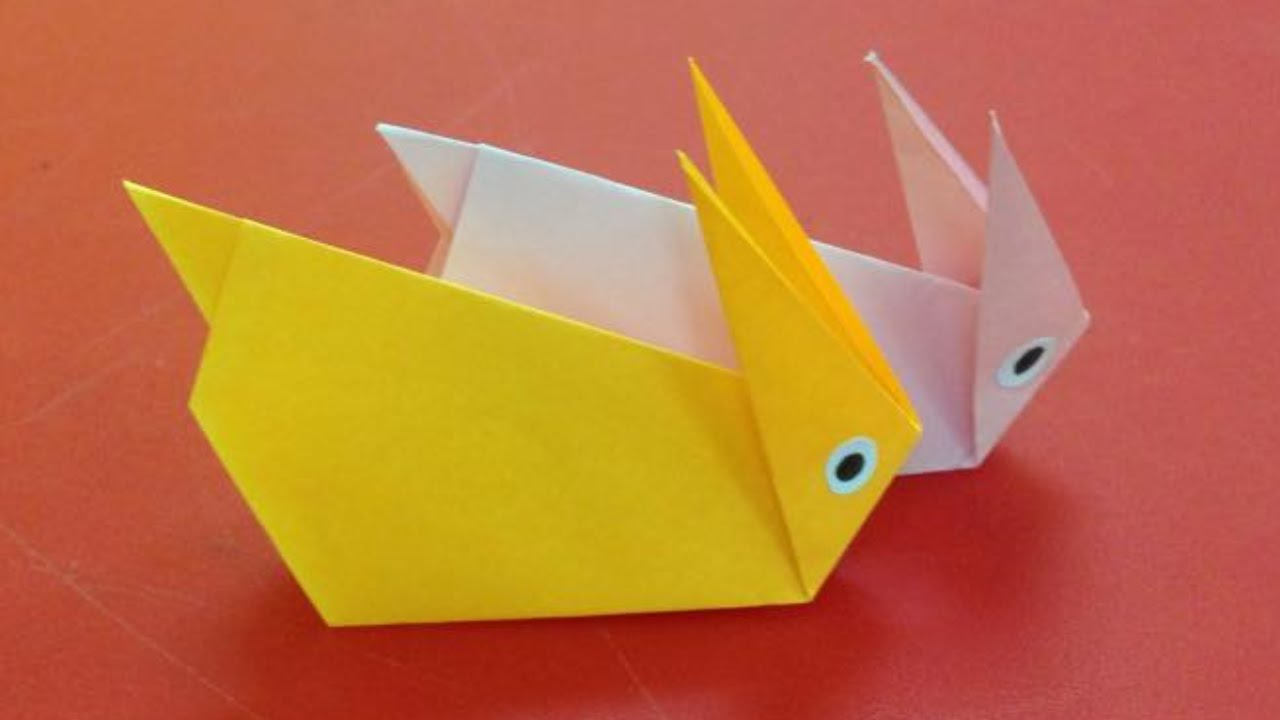 how to make a paper rabbit easy origami rabbits for