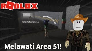 Zombie Menari?! - Survive and Kill the Killers in Area 51 !!! - Roblox