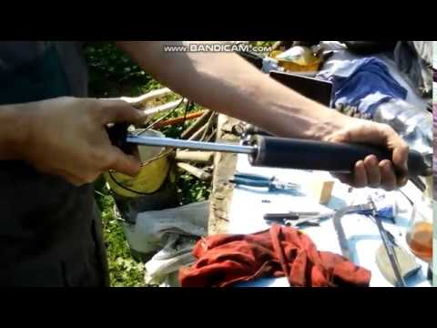 Ремонт амортизаторов ваз 2101 своими руками видео