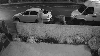 Police have released CCTV footage after a number of vehicles had their tyres slashed in Gateshead.