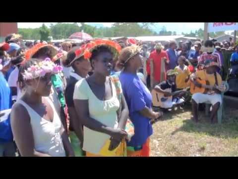Kolombangara Island Biodiversity and Cultural Festival 2011 - music, rainforest and activities