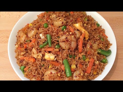 Fried Rice | How To Make Shrimp Fried Rice Better Than Takeaway🔥