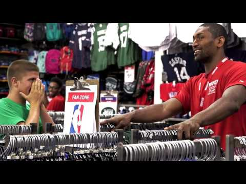 Metta World Peace - Modell's Undercover Associate