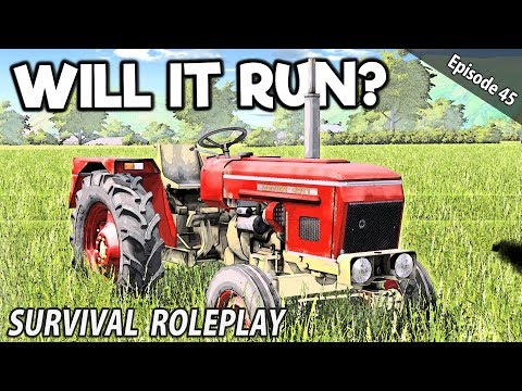 WILL THE SUBMARINE TRACTOR EVER RUN AGAIN? | Survival Roleplay | Episode 45 thumbnail