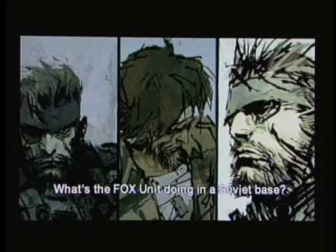 Metal Gear Solid: Portable Ops - Full Story version (Part 1 Roy Campbell)