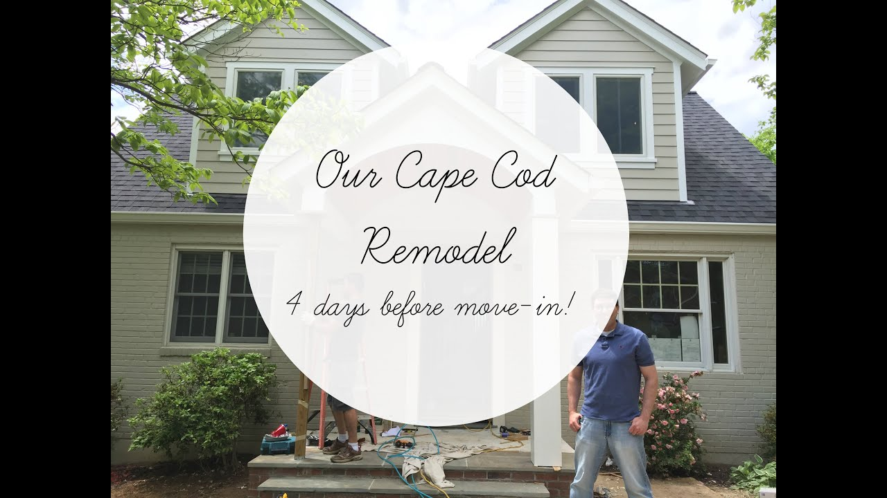Cape Cod Remodel - 4 days until Move-IN! - YouTube