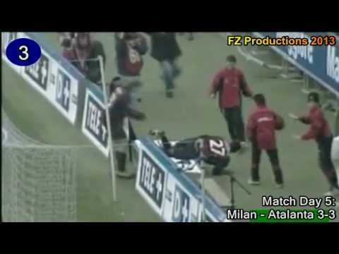 Serginho - 18 goals in Serie A (Milan 1999-2008)
