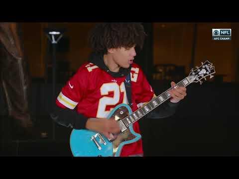 Incredible National Anthem Before Bills vs. Chiefs | AFC Championship | Brandon Niederauer