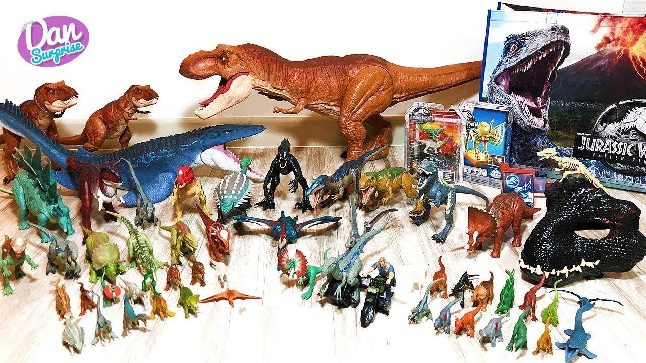 Kingdom Mattel Fallen Jurassic Toysamp; Dinosaur World Figures Collection Action tsCQxrhd