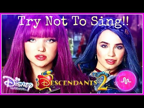Thumbnail: Disney Descendants 2 Musical.ly Challenge | Try Not To Sing Or Dance Descendants Musically
