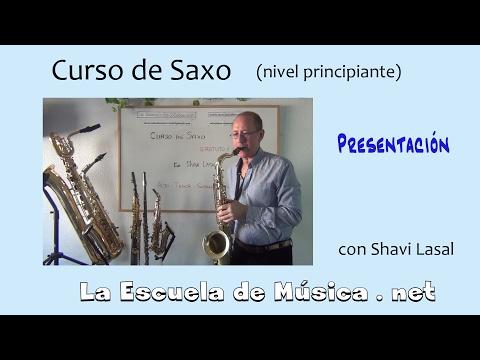 Curso de saxo para principiantes - Presentación