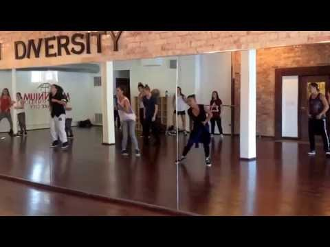 Alyson Stoner master class - Rather Be - Clean Bandit ft. Jess Glynne - hip hop - MDC SLC