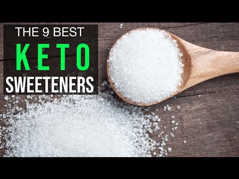 THE 9 BEST KETO DIET LOW CARB SWEETENERS!!!