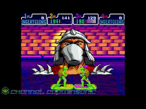 TMNT Turtles In Time with Mikey and Donnie