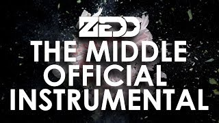 Zedd, Maren Morris, Grey - The Middle ( Official Studio Instrumental )