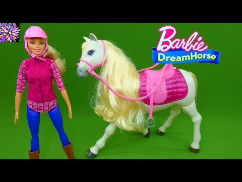 Barbie Dream Horse Voice And Touch Activated! Mattel