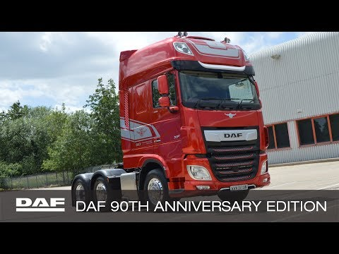 DAF Trucks UK  DAF 90th Anniversary Special Edition XF  Overview with James Turner