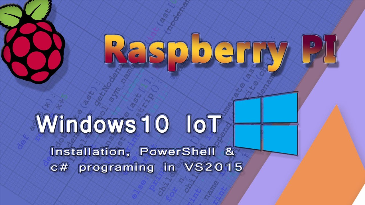 Raspberry Pi Installing Windows10 Iot Core Powershell And Visual Wiringpi C Mono Studio 2015 Set Up Youtube