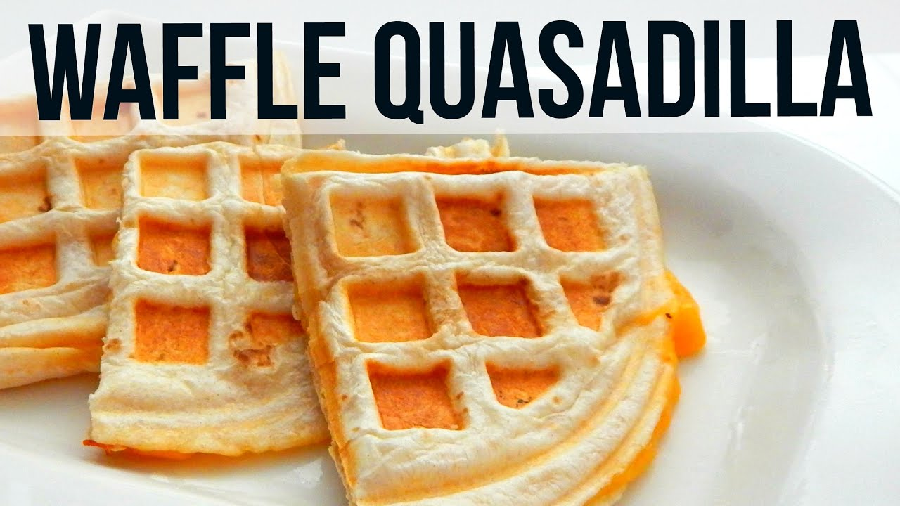 How to make waffle quesadilla simple recipe mexican food youtube how to make waffle quesadilla simple recipe mexican food forumfinder Image collections