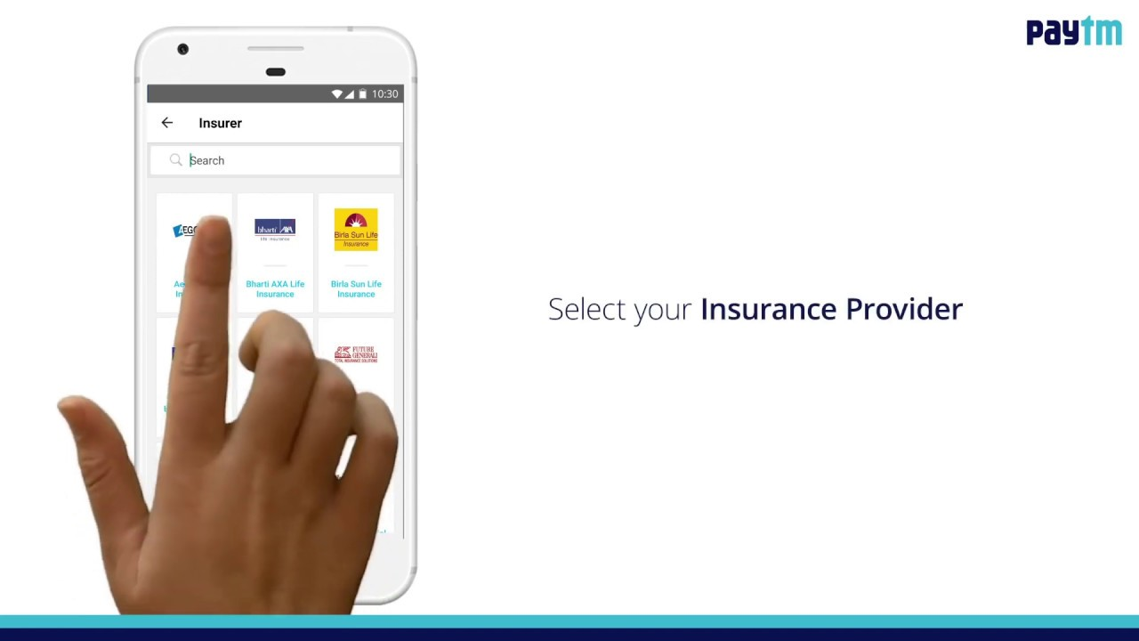 How To Pay Your Insurance Premium On Paytm Youtube