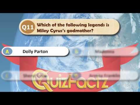 Miley Cyrus Quiz
