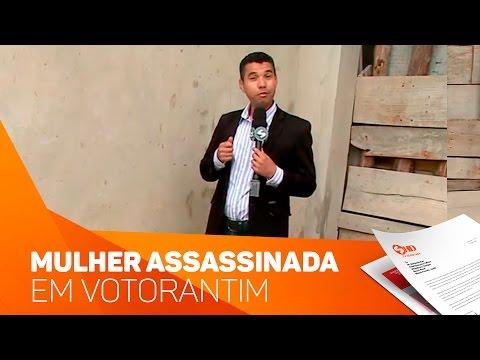 Investigação de assassinato em Votorantim - TV SOROCABA/SBT