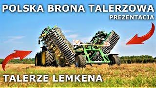 Brona Talerzowa LEMTECH Colter 5m / Talerze LEMKEN  (Szczegółowa Prezentacja/Walkaround)   61
