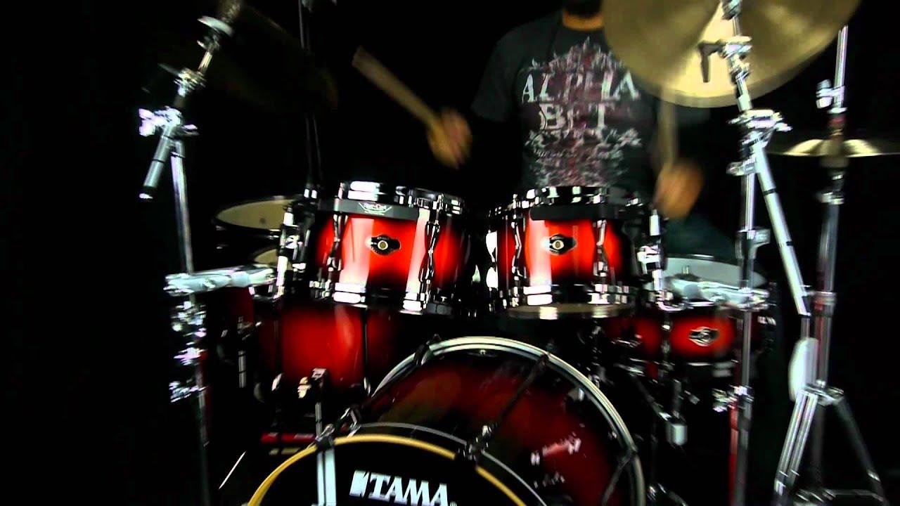 tama superstar hyperdrive drums 6pc copper mist youtube. Black Bedroom Furniture Sets. Home Design Ideas