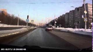 Подборка ДТП видеорегистратор №56 от 5 03 2014