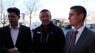 SHOTS FIRED! DAVE HIGGINS & JOSEPH PARKER TRAINER KEVIN BARRY (COMPLETE) URBAN PRESS CONFERENCE