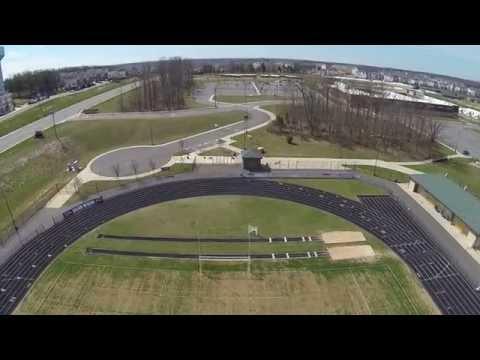 View from above Brambleton VA