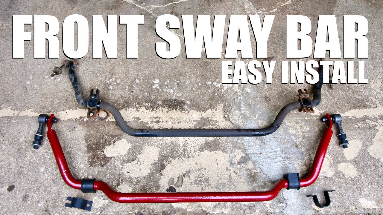 How to Install an Upgraded Front Sway Bar