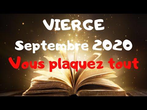 VIERGE SEPTEMBRE 2020~Vous plaquez TOUT!