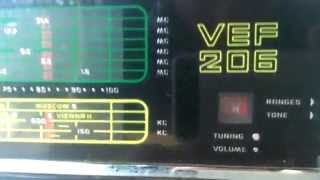 Test für Ebay : VEF 206 Weltempfänger  , altes UdSSR - Transistorradio, 1975